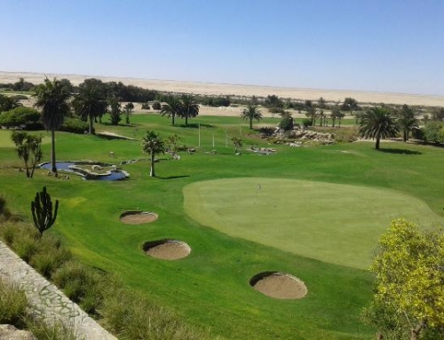 Golfing in the Namib Desert